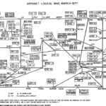 By ARPANET - The Computer History Museum ([1]), en:File:Arpnet-map-march-1977.png, Public Domain, https://commons.wikimedia.org/w/index.php?curid=9990864