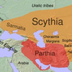 The Scythian empire flourishes in central Eurasia