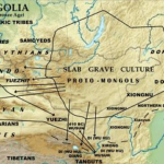 The Slab Grave culture flourishes in modern-day Mongolia