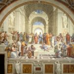 Raphael completes his painting The School of Athens