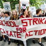Over 1 million students from around the world walk out of schools to strike for climate action