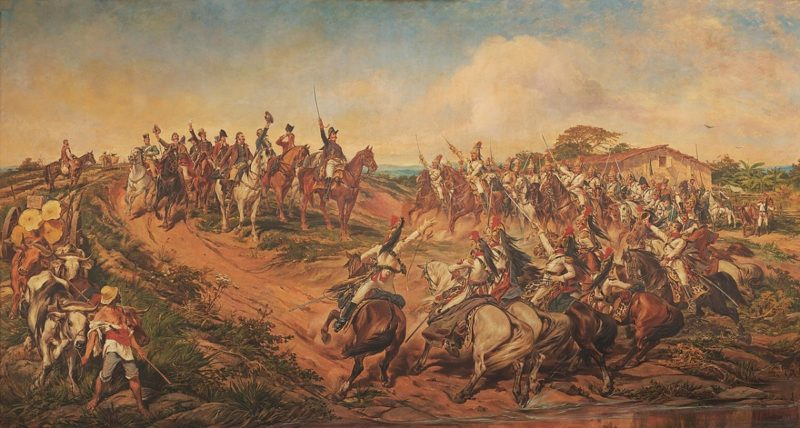 Painting of Brazilian Independence in
