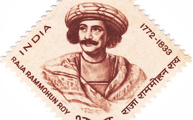 px Ram Mohan Roy stamp of India