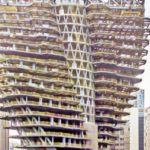 Vertical forest Taipei mockup