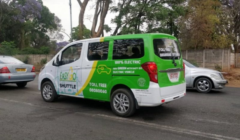 Harare airport all-electric shuttle